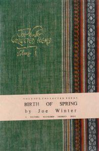 Joe Winter Poetry, Birth of Spring