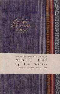 Joe Winter Poetry, Night Out