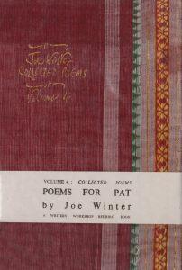 Joe Winter Poetry, Poems for Pat