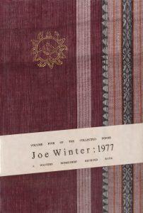 Joe Winter Poetry, 1977