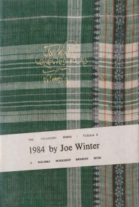 Joe Winter Poetry, 1984