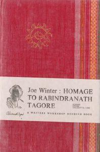 Joe Winter Poetry, Homage to Tagore