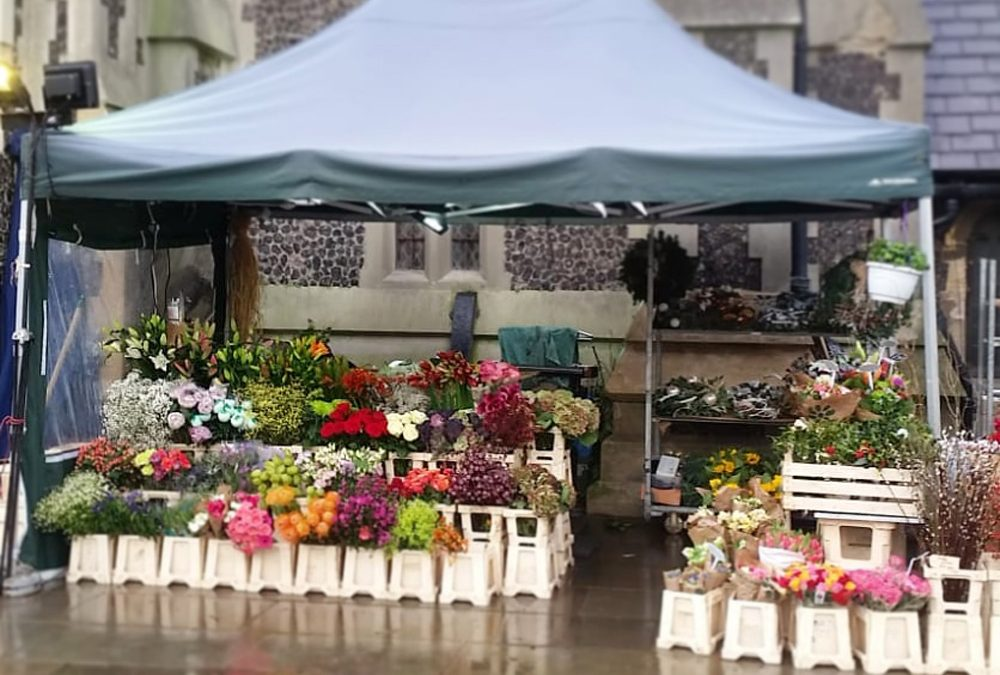 The flower stand Hove