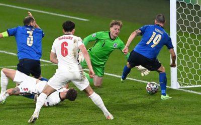 It's Italy on penalties . . .