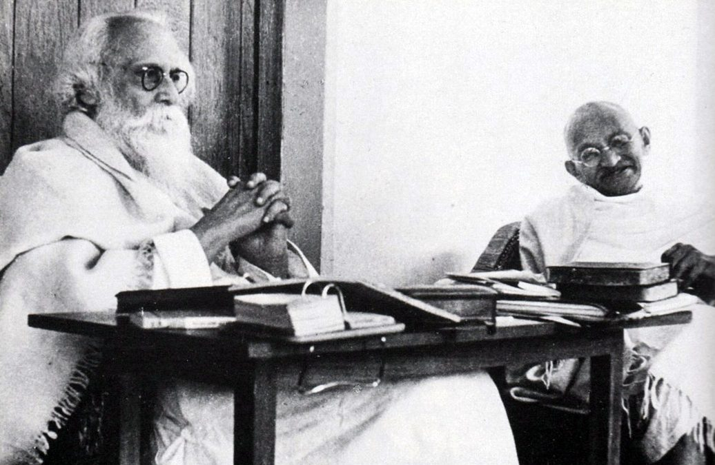 Tagore and Ghandi